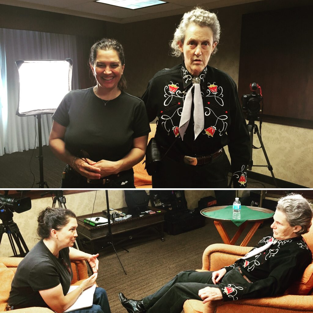 Dr. Temple Grandin interview with Backyard Green Films