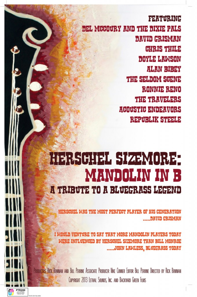 Mandolin in B Poster