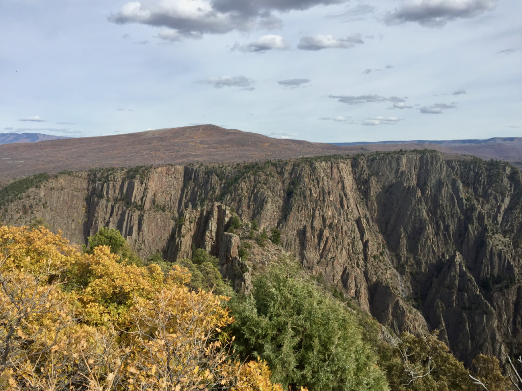 Autumn at Black Canyon of the Gunnison National Park